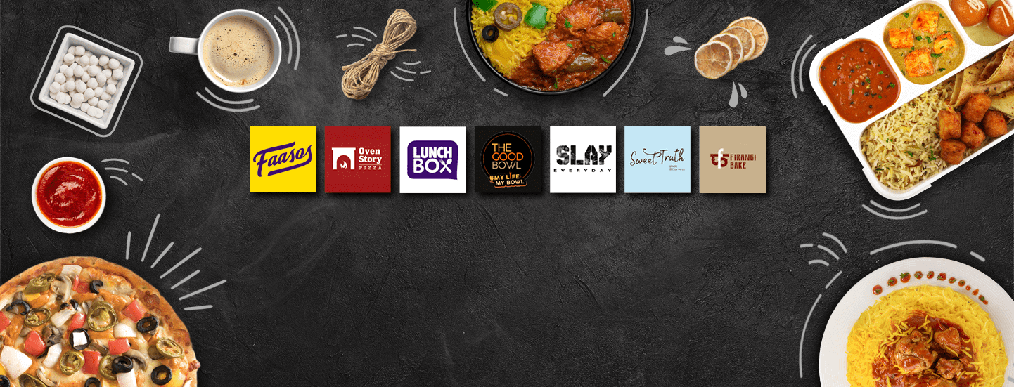 Delicious Food, Multiple Brands, Delivered To Your Desk At Work Or At Home